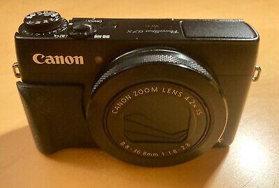 CANON PowerShot G7 X 20.2 MP Digitalkamera - Schwarz