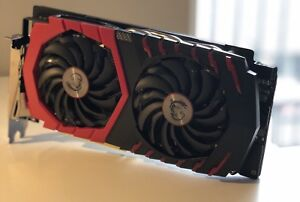 MSI gaming X gtx 1060 6gb