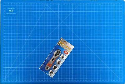 Schneidematte A2 + Rollmesser 5 Schichten! selbstheilend Schneideunterlage