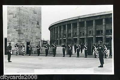 MILITARY - Trooping the Colour Berlin Buglers 1948 ?? Worcestershire Regiment RP