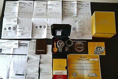 Breitling Chrono Avenger M1 E73360 Titanium Quartz service 13/05/21 new battery