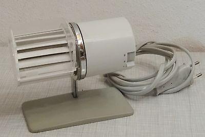 Kleiner Braun HL1 Designer Tischventilator Ventilator Design Reinhold Weiss 60er