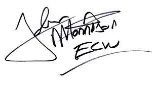 WWE-ECW-Wrestilng-John-Morrison-signed-card