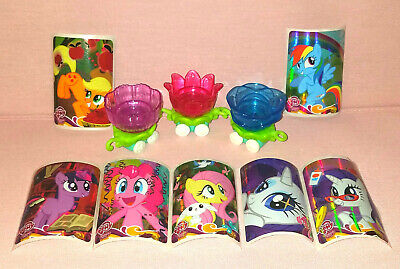MY LITTLE PONY BREEZIES PARADE FLOWER CAR REPLACEMENTS WITH STICKERS