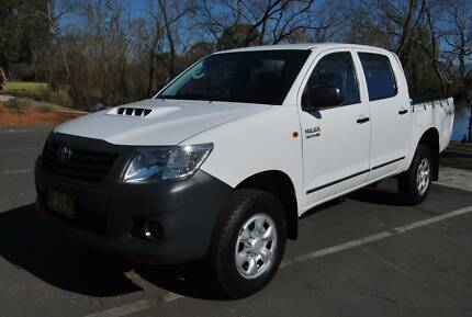 2012 Toyota Hilux WORKMATE 4WD TURBO DIESEL Ute Hobartville Hawkesbury Area Preview