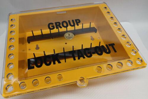 Saalman Condor Grainger Safety Sliding Lid Lockout Box keeps padlocks in place