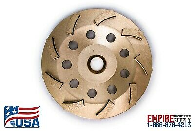 Fits Bosch 5-inch Diamond Cup Grinding Wheel For Concrete Single Row Turbo New