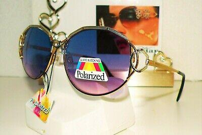 VTG CAVIAR ULTRA M 6587 C 40 WOMEN'S SUNGLASSES MATTE SILVER/GOLD BOX 32 MK TF (Caviar Sunglasses)