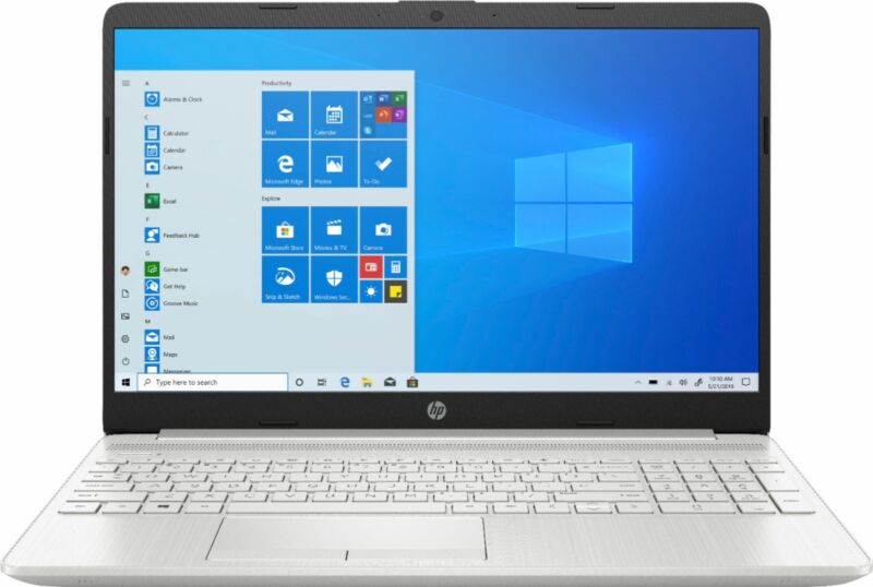 "HP - 15.6"" Touch-screen Laptop - Intel Core i3 - 8GB Memory - 256GB SSD - Nat..."