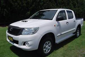 2011 Toyota Hilux WORKMATE 4WD AUTO DUAL CAB Hobartville Hawkesbury Area Preview