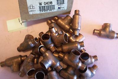 Lot Of 50 New In Box Mueller Copper Tees W 04016 W04016 110-1