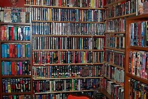 OVER  3400  VHS  COLLECTION