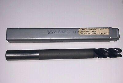 Hanita Extra Long Cobalt Hog End Mill 34 X 1.58 X 8.14 4 Flute Coated New