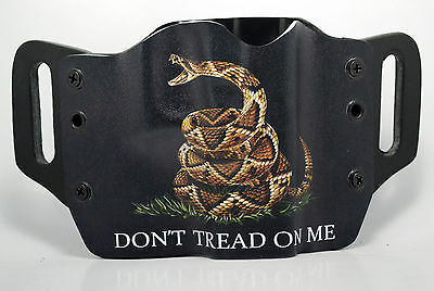 Dont Tread On Me Black Owb Kydex Holster For Taurus