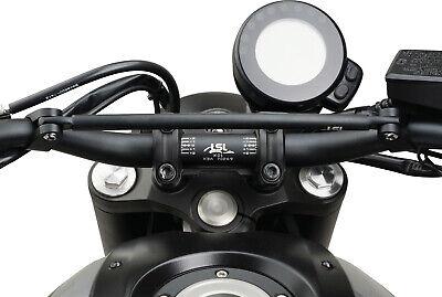 Yamaha XSR700 Tachohalter versetzt originales Rundinstrument Speedometer Bracket