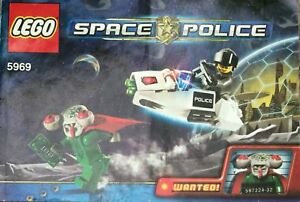 LEGO space police 5969