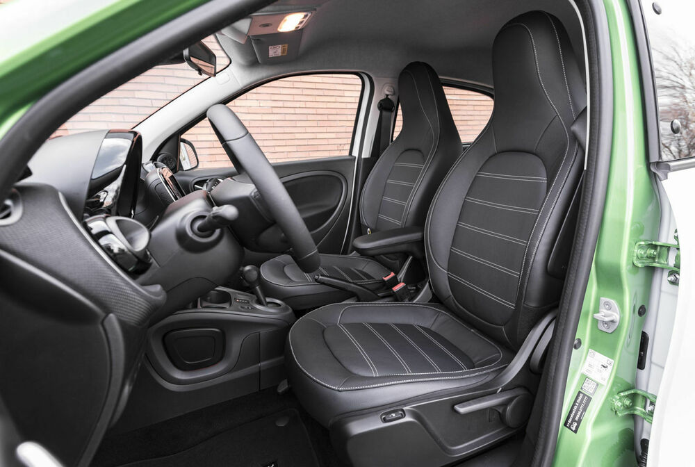 Smart Forfour Electric Drive: Innenraum