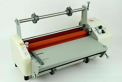17.3 Inch Thermal Roll Laminator Machine Electric Laminating Coldhot Equipment
