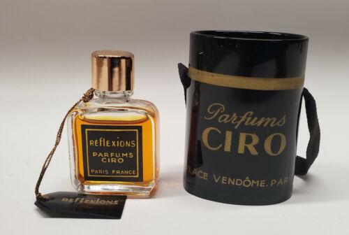 Vintage Reflexions parfum extrait by Ciro ~ MINI 3 ml in case