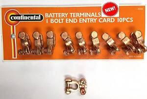 10 pcs Battery Terminals Clamps Zinc St Marys Mitcham Area Preview