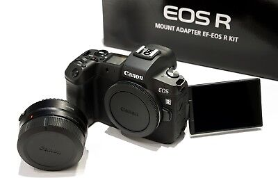 Eos Ef Body (Canon EOS R Gehäuse, Schwarz inkl. EF-EOS R Canon RF body black)