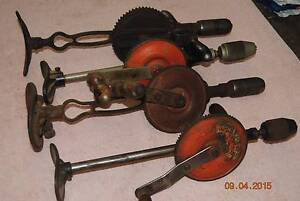 4 old breast drills Russell Vale Wollongong Area Preview