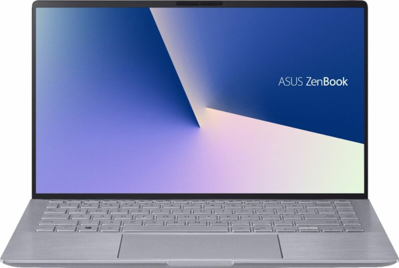 "ASUS - Zenbook 14"" Laptop - AMD Ryzen 5 - 8GB Memory - NVIDIA GeForce MX350 -..."