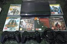 the new look PS3 Super Slim 500G + 2 Controllers + 6 Top Games Rockdale Rockdale Area Preview