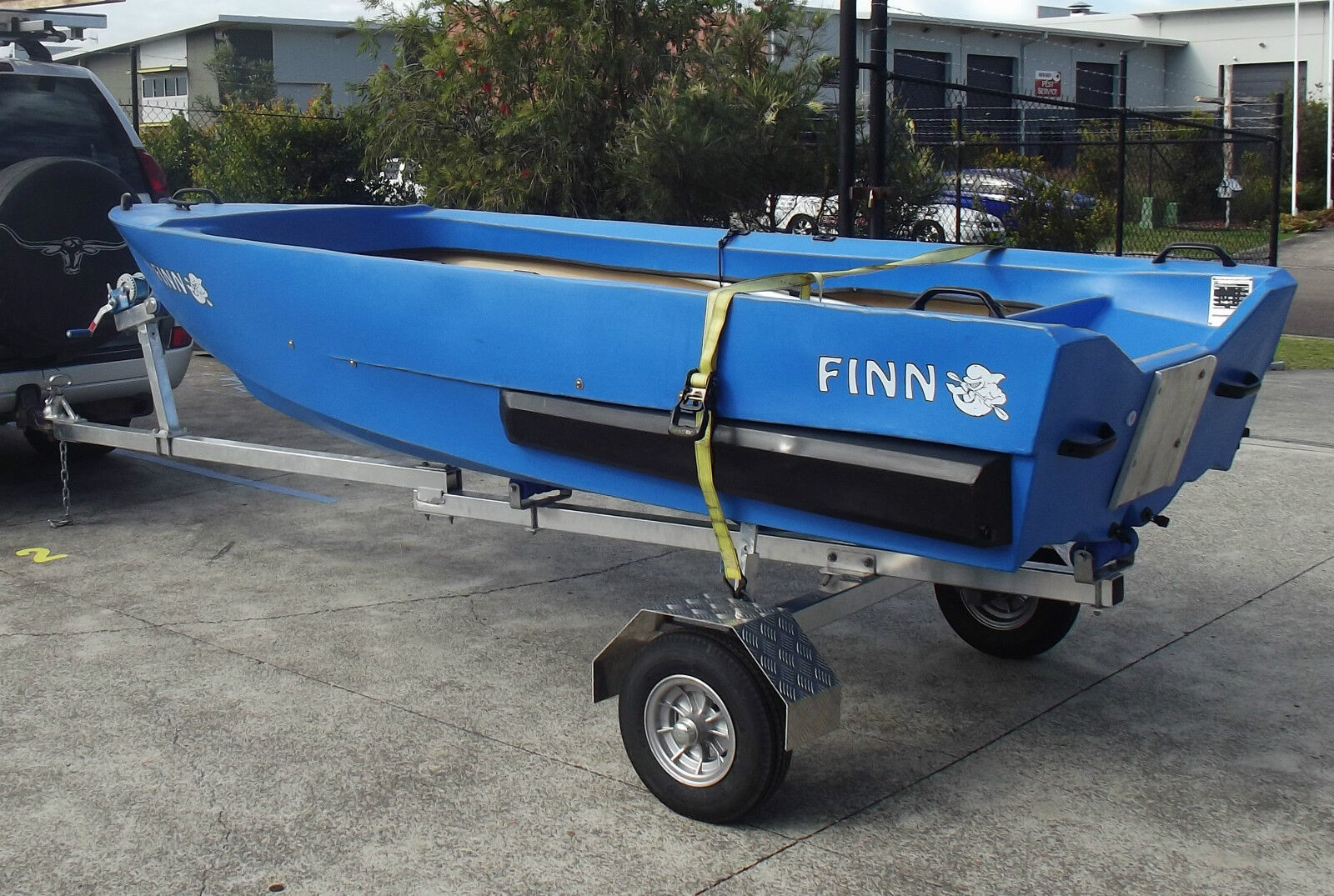 Motorcycle Boat Trailer