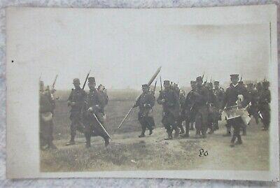Carte photo militaire Français en campagne guerre 14-18 WW1