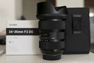 Almost New Sigma 24-35mm f/2 DG HSM For Nikon Leumeah Campbelltown Area Preview