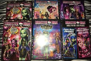 Monster High DVDs. Used.