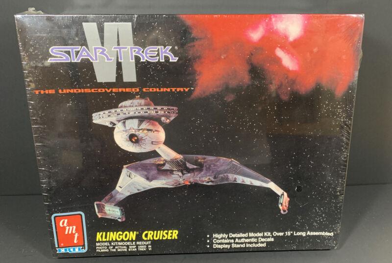 AMT ERTL STAR TREK VI KLINGON CRUISER Model Kit 8229 FACTORY SEALED NEW