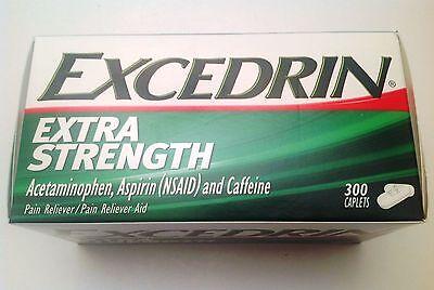 Excedrin Extra Strength 300 Caplets Headache Pain Reliever (Headache Acetaminophen)