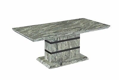 Marble Effect Designer Italian Modern Rectangle Coffee Contemporary Living Table