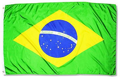Fahne Brasilien 90 x 150 cm brasilianische Hiss Flagge Nationalflagge WM 2018