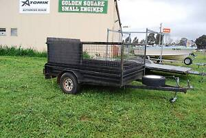 Trailer with Cage and backramp access Golden Square Bendigo City Preview
