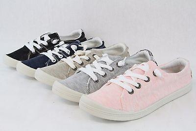 Women Comfortable Sneaker Lace Up Shoes Flat Heels Flexible Lightweight Design  ()