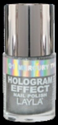 Layla Hologram Effect Nail Polish - Layla Hologram Effect