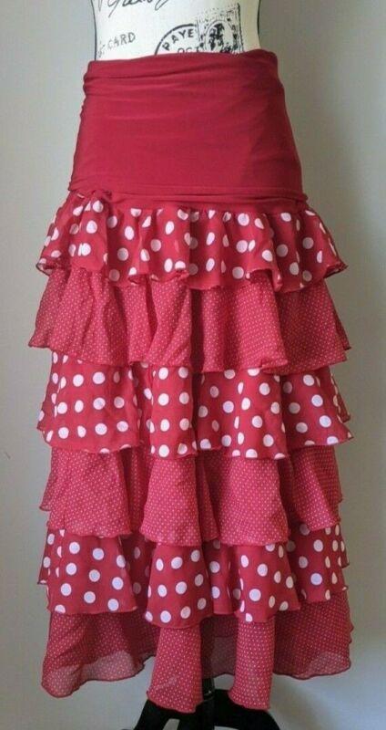 Lunares Flamenco Skirt S
