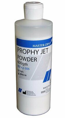 Dentonics 42-306 Master-dent Prophy Jet Cleaning Powder Mint 600 Gm