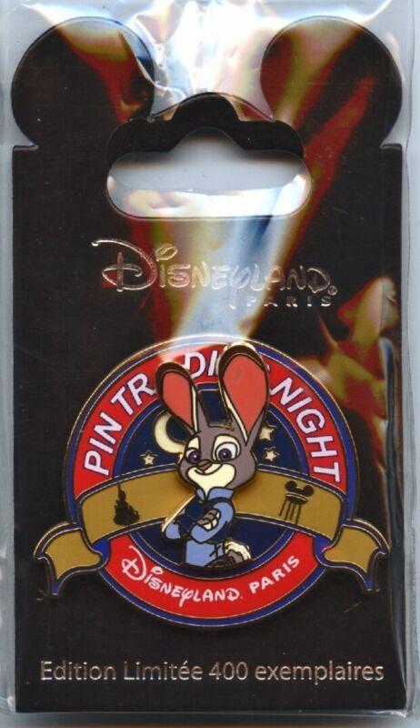 Disneyland Paris - Pin Trading Night - Judy Hopps Pin (Zootopia)