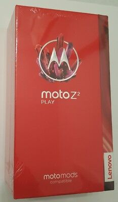 Brand name New Moto Z2 Play 64GB XT1710 Factory Sealed Lunar Gray Unlocked
