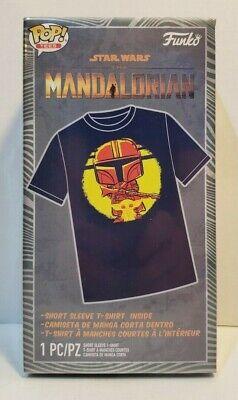 Funko Pop Tees Star Wars The Mandalorian Short Sleeve T-Shirt Size L F