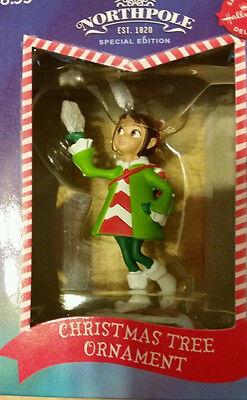 NIB 2014 NORTHPOLE HALLMARK Special Delivery Edition Elf w/ Snowflake Ornament