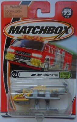 Matchbox 2001 X-TREME RESCUE Air Lift Helicopter 73/75