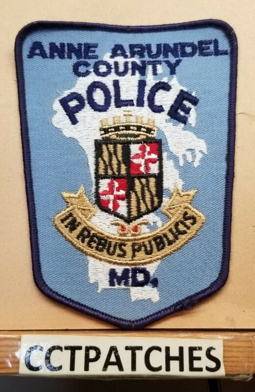 ANNE ARUNDEL COUNTY, MARYLAND POLICE SHOULDER PATCH MD