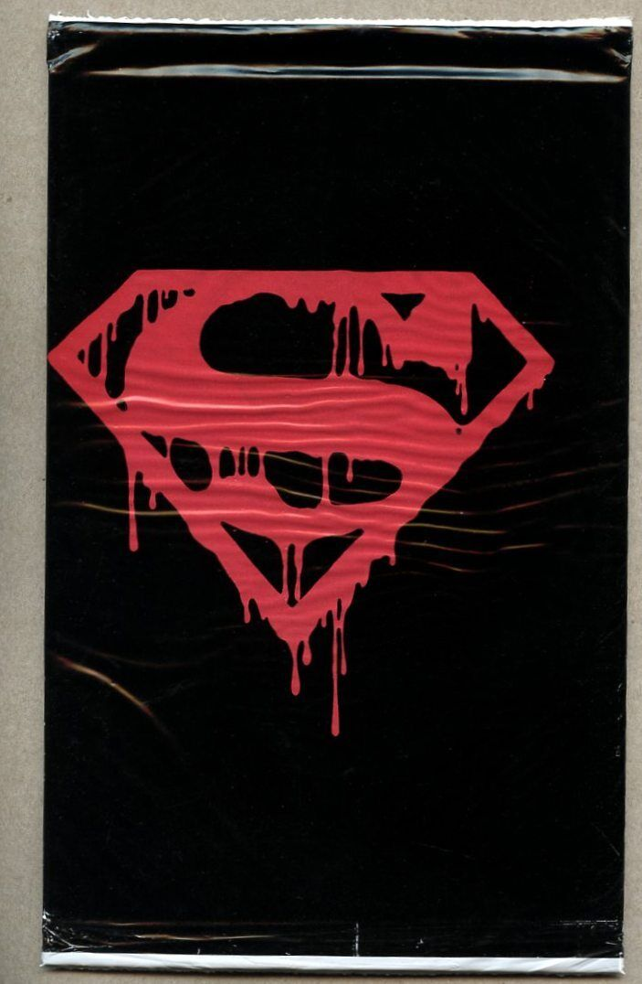 The Death of Superman #75 black comic book NM sealed bagged