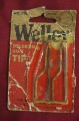 Vintage Weller 7135 Original Oem Soldering Gun Tip For 8100 8200 D440