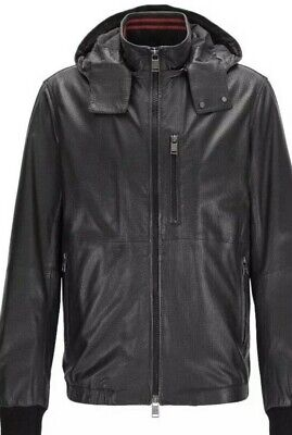 f0f0b4cd5 Best Deals On Hugo Boss Leather Jacket Men - comparedaddy.com